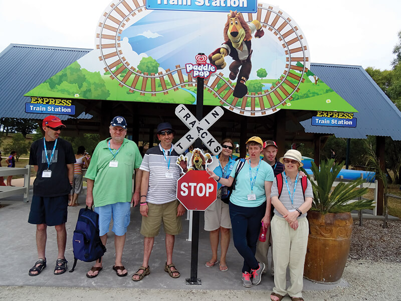 holiday for disabled - anglesea adventures victoria