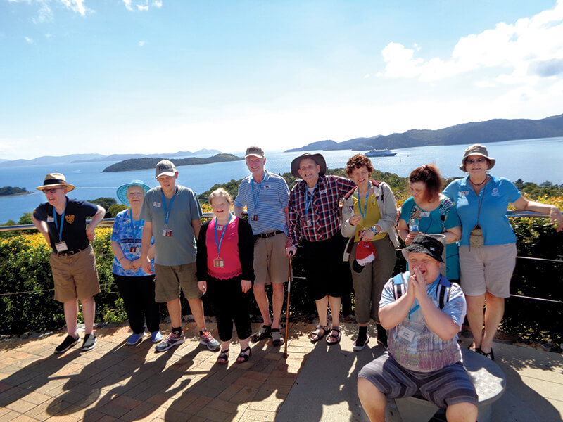 holiday for people with disabilities - barrier reef discovery cruise queensland
