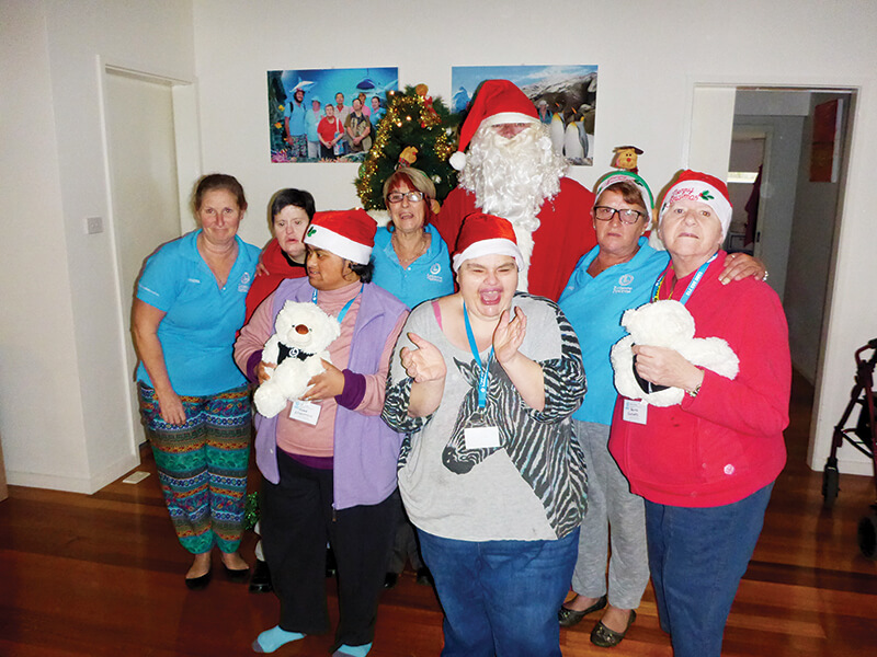 holiday for disabled - christmas in july victoria