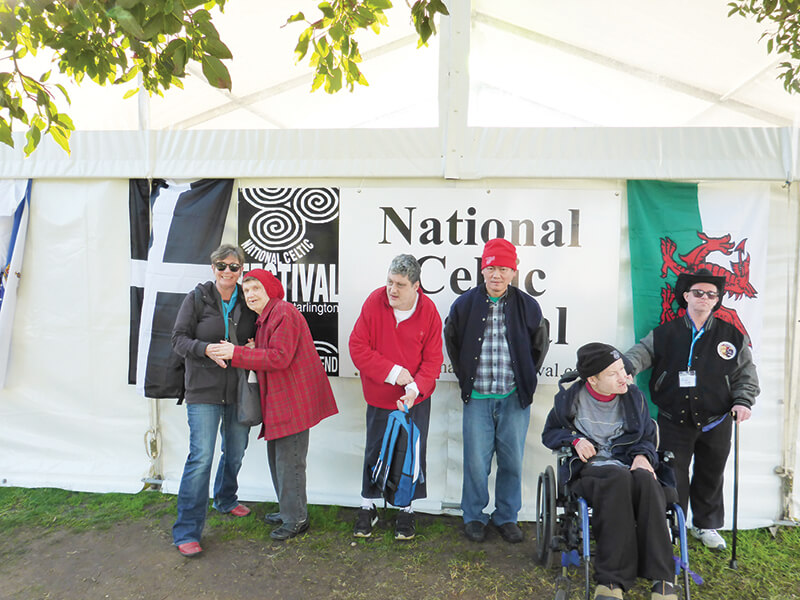 holiday for people with disabilities - celtic music festival victoria