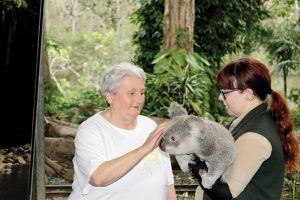 holiday for people with disabilities - gold coast animal lovers queensland