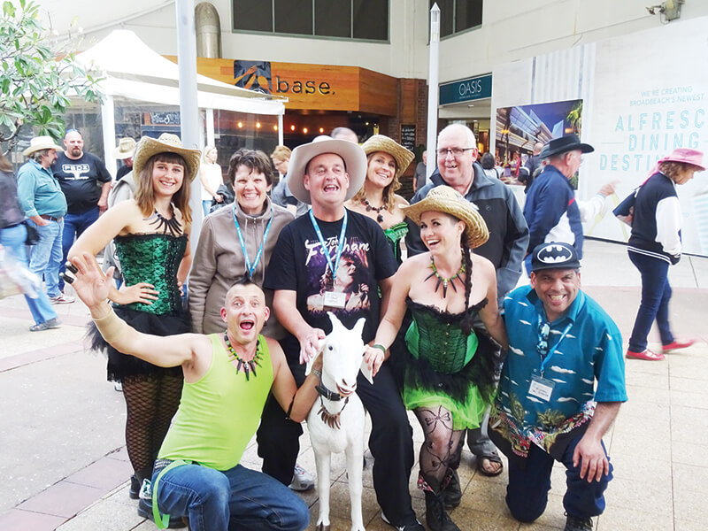 holiday for disabled - gold coast country music festival queensland