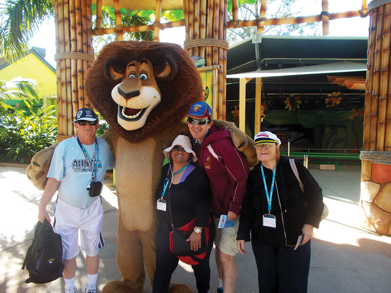 holiday for people with disabilities - gold coast theme parks queensland