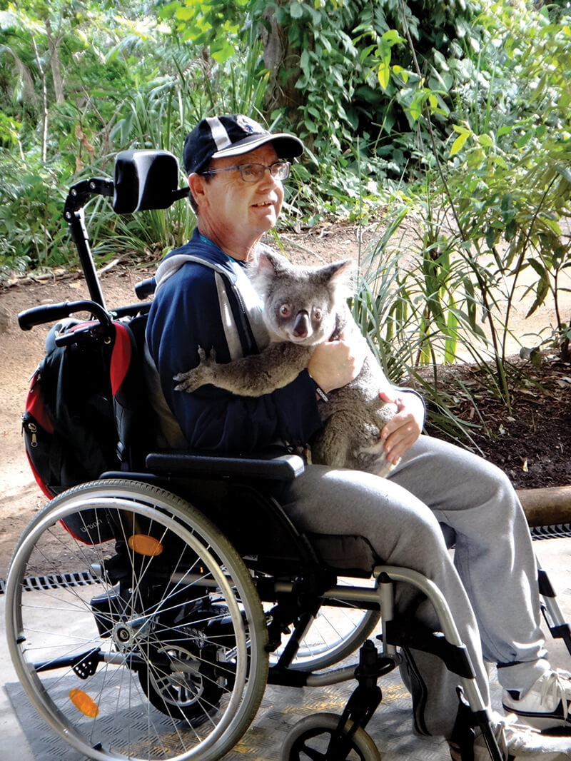 holiday for disabled - gold coast wheelies queensland