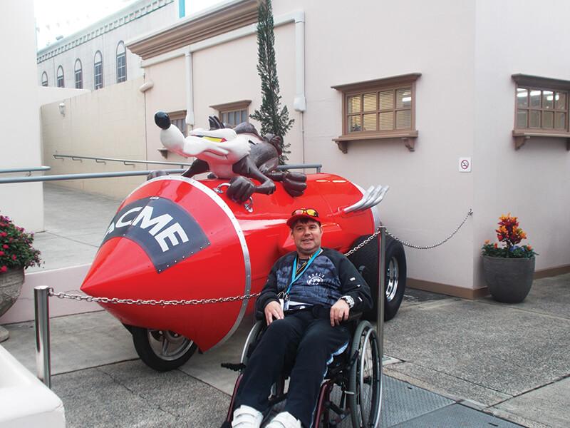 disability travel -gold coast wheelies queensland