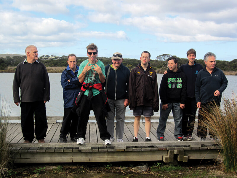 holiday for disabled - men's spring break anglesea