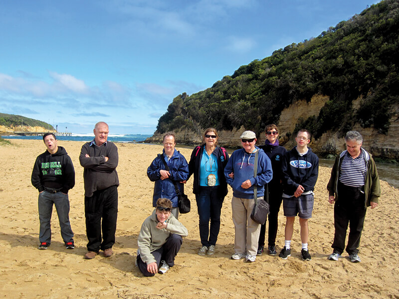supported holiday - men's spring break anglesea