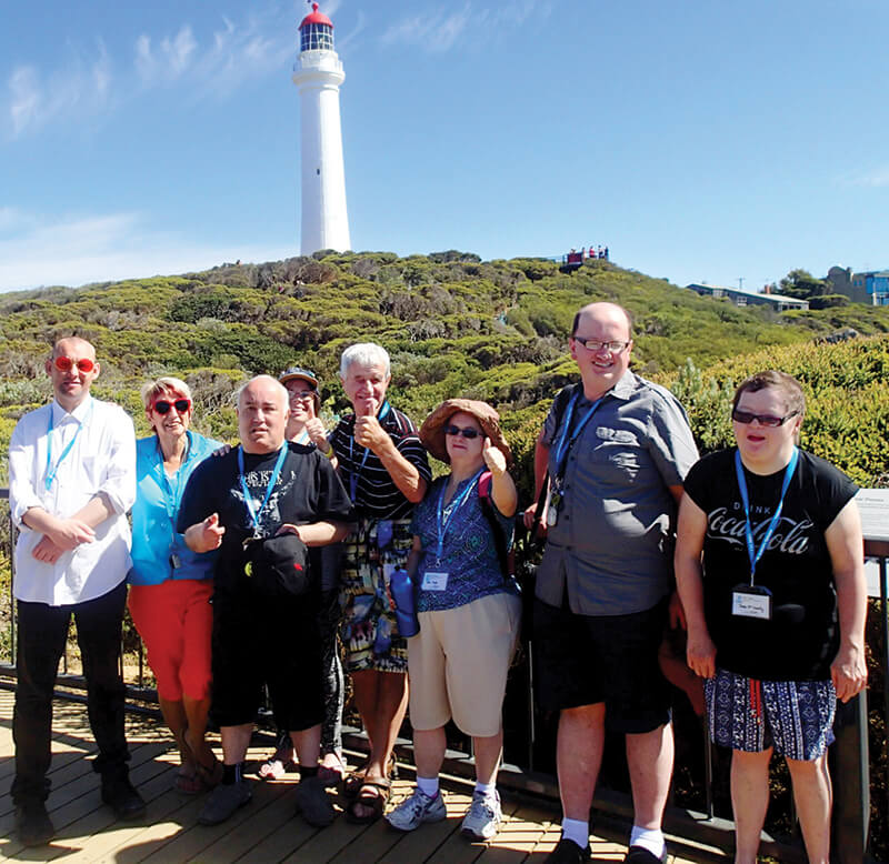 holiday for disabled - surf coast new year's eve victoria