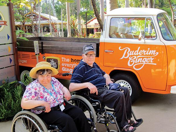 disabled holiday - sunshine coast wheelies queensland