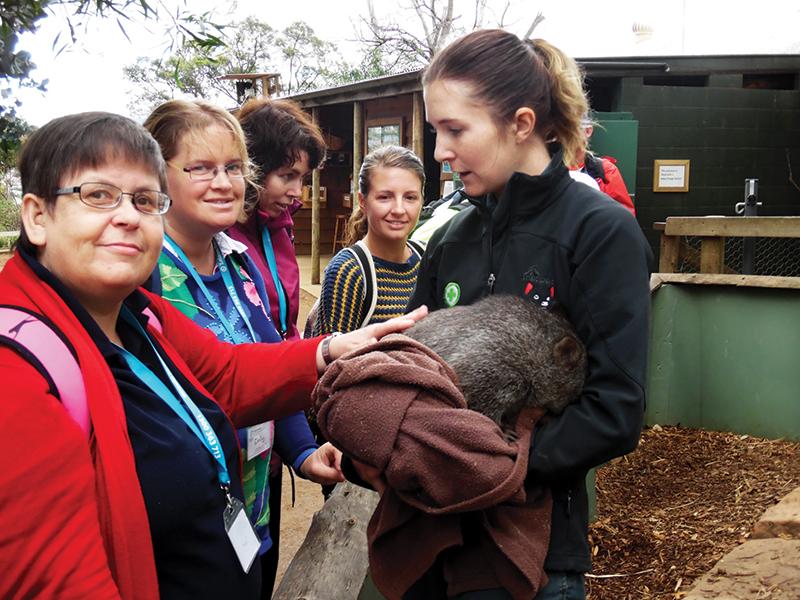 holiday for people with disabilities - tasmania animal lovers australia