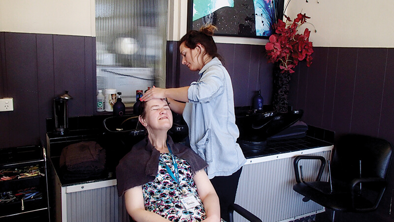 holiday for disabled - women's pampering victoria