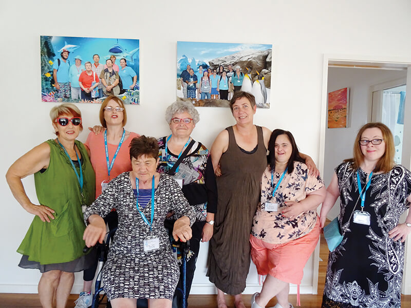 holiday for people with disabilities - women's pampering victoria