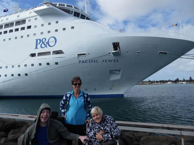 disability travel - adelaide rail and sail south australia
