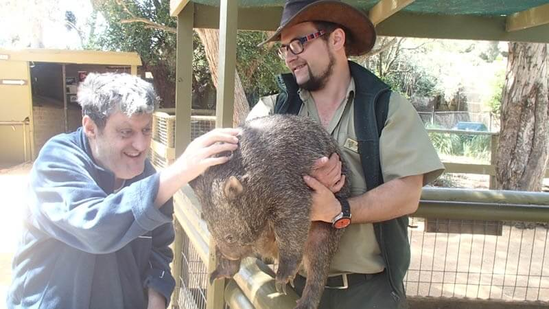 supported holiday - anglesea animal lovers victoria
