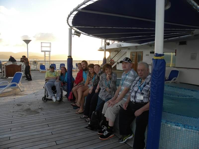 disabled holiday - barrier reef discovery cruise australia