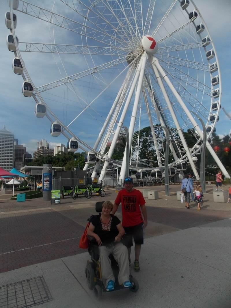 disability travel - brisbane vip tour queensland