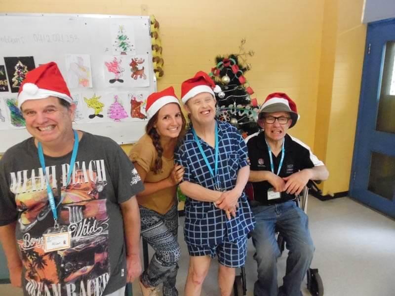 disabled holiday - christmas at wagga new south wales