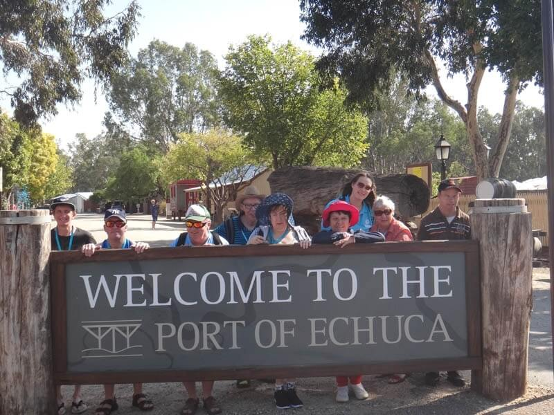 supported holiday - echuca explorer victoria
