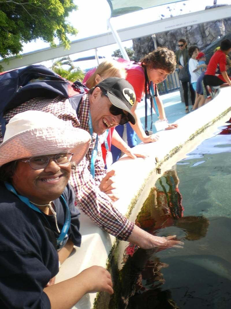 disability travel - gold coast theme parks queensland
