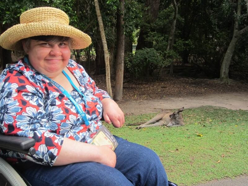 holiday for people with disablities - sunshine coast wheelies queensland