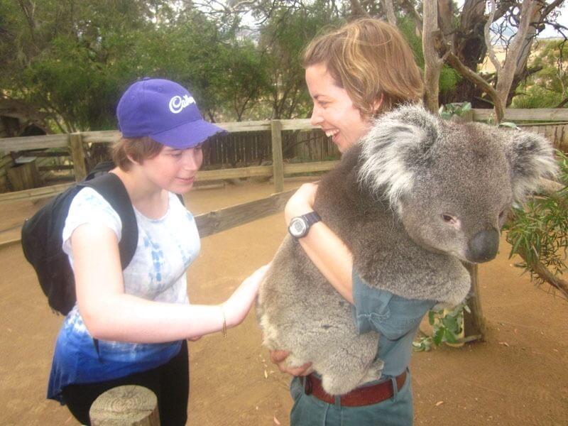 supported holiday - tasmania animal lovers australia