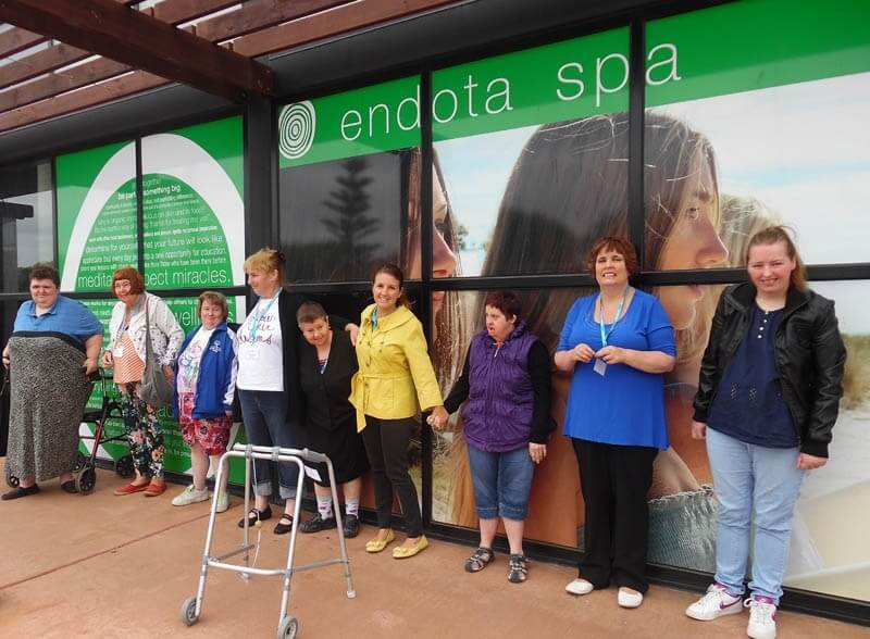 disability travel - women's pampering victoria