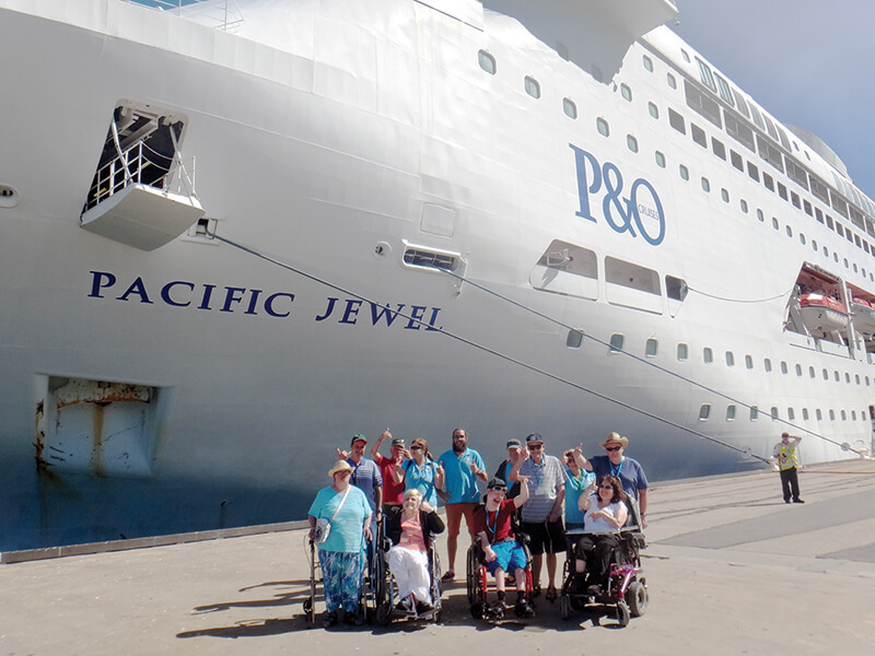disabled holiday - southern getaway cruise sydney