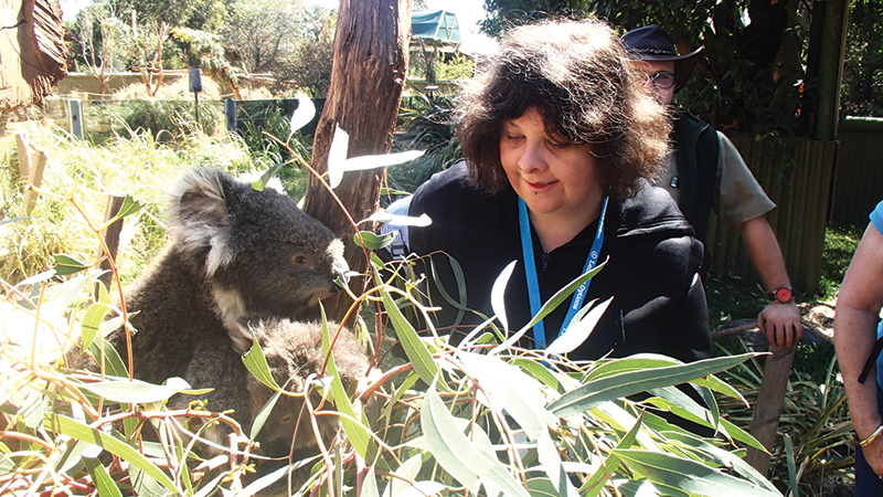 disabled holiday - animal encounters victoria