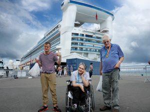 disabled holiday - cruise new zealand dunedin