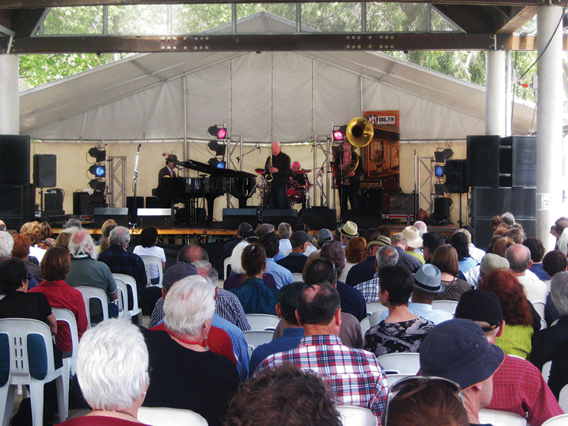 supported holiday - wangaratta jazz and blues festival victoria