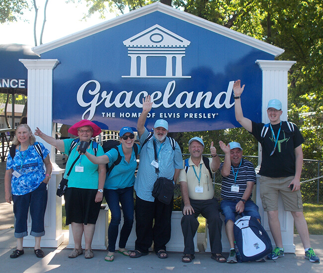Travel With Us - Group Graceland